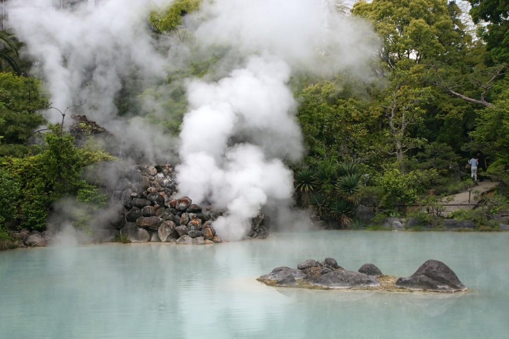 Beppu thermal 1024x682 Источники Беппу (Beppu)