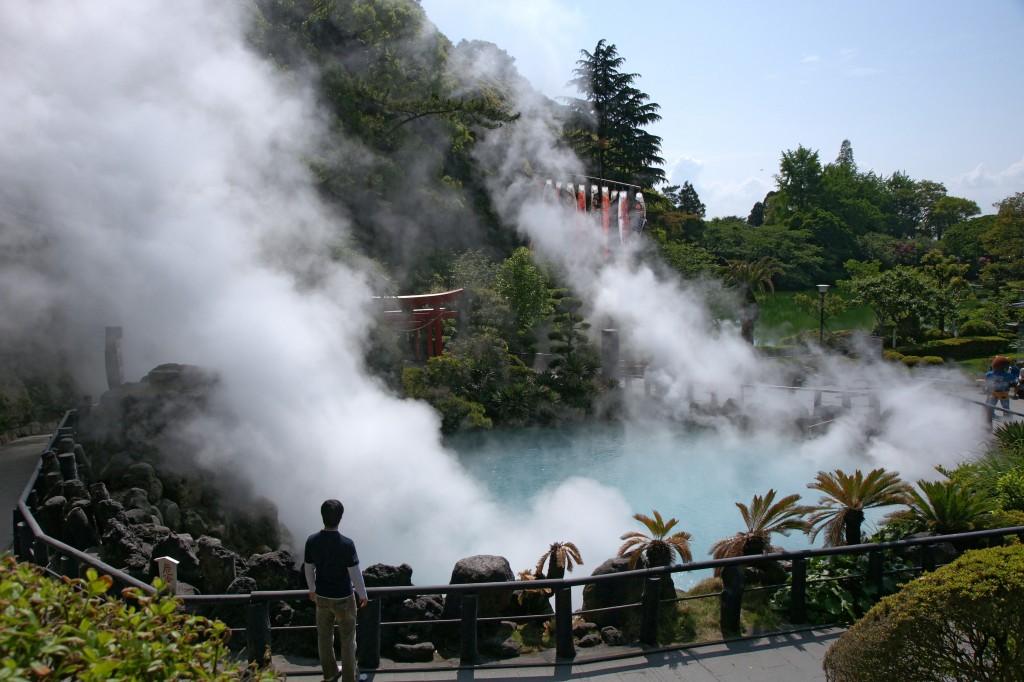 Beppu zoo view 1024x682 Источники Беппу (Beppu)