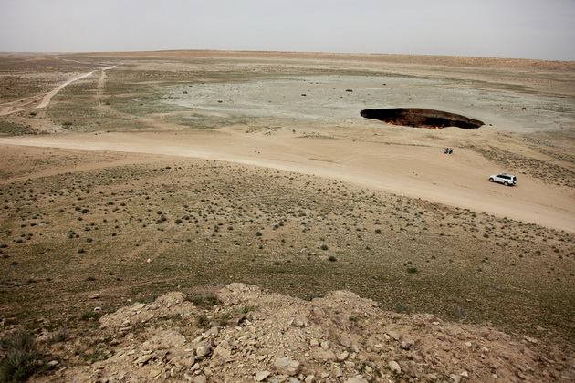 Door to hell 3 Пылающий кратер Дарваза