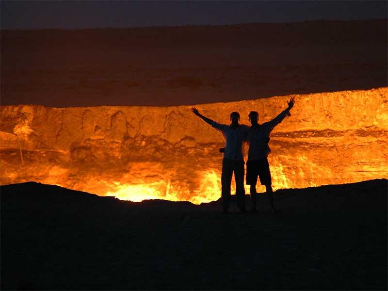 Door to hell 4 Пылающий кратер Дарваза