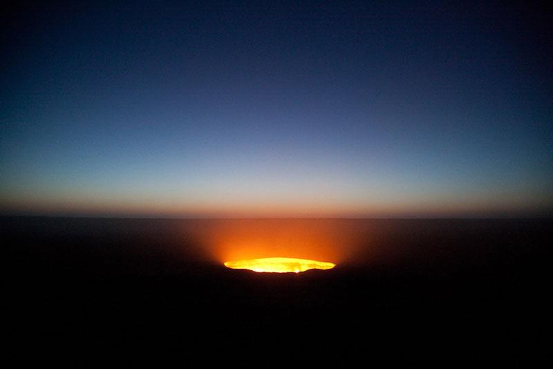 Door to hell 6 Пылающий кратер Дарваза
