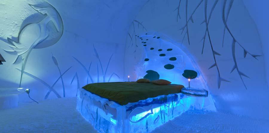 Icehotel room Ледяной отель (Icehotel)