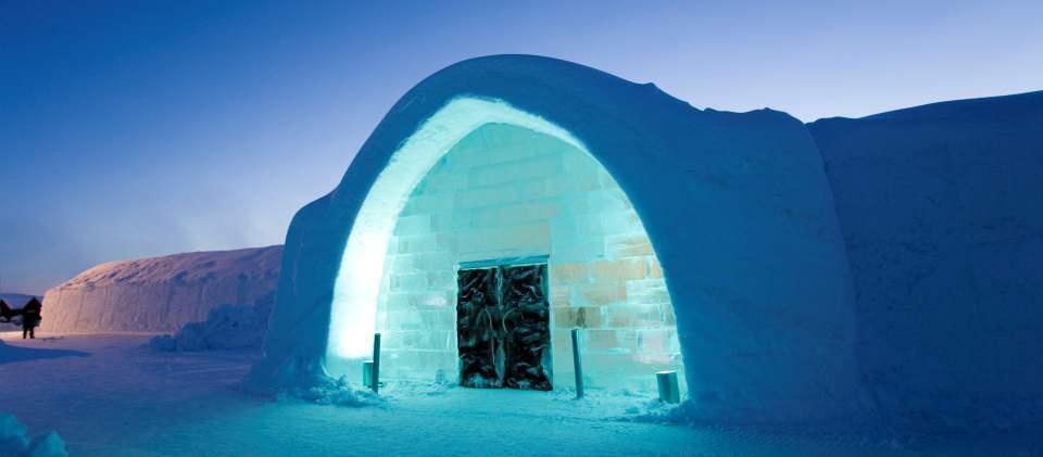 Ледяной отель (Icehotel)