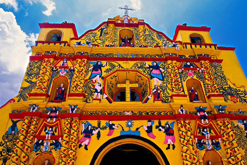 Церковь Сан Андрес Шекуль (San Andres Xecul)