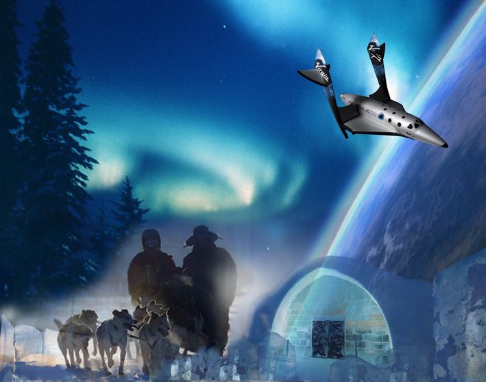 spaceport sweden Ледяной отель (Icehotel)