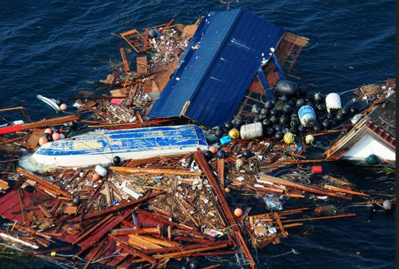Мусор в океане Большое тихоокеанское мусорное пятно